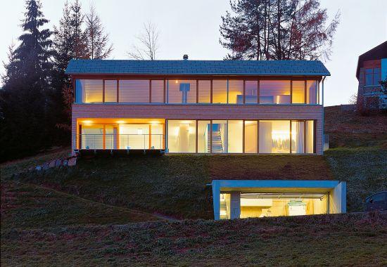 Einfamilienhaus Kaufmann, Schwarzenberg
