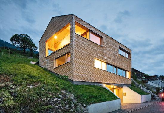Einfamilienhaus Kopp-Schamberger, Altstätten-Lienz (CH)