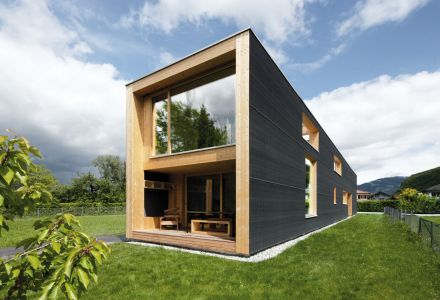 Einfamilienhaus mit Büro, Hohenems
