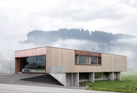 Einfamilienhaus mit Schauraum Künzler-Schwarzmann, Bezau