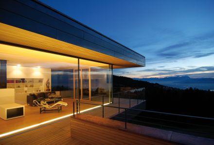 Einfamilienhaus über dem Bodensee