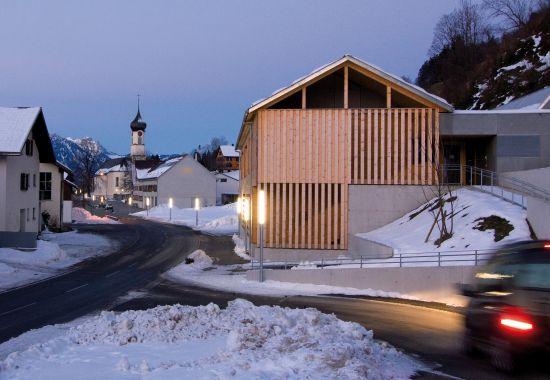 Mehrzweckgebäude, Thüringerberg